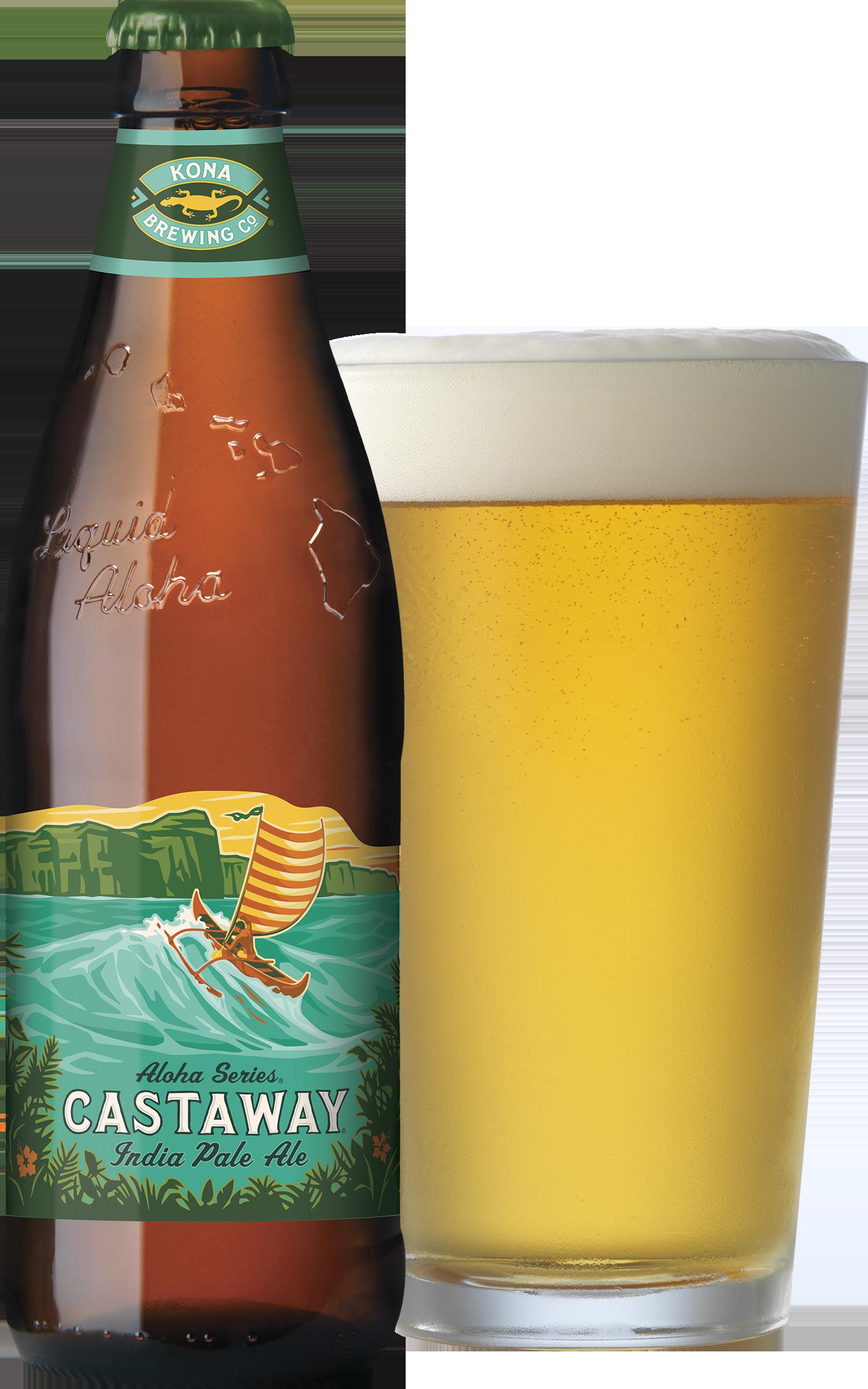 Castaway IPA Bottle | Beers | Beer, Kona brewing, Beer recipes