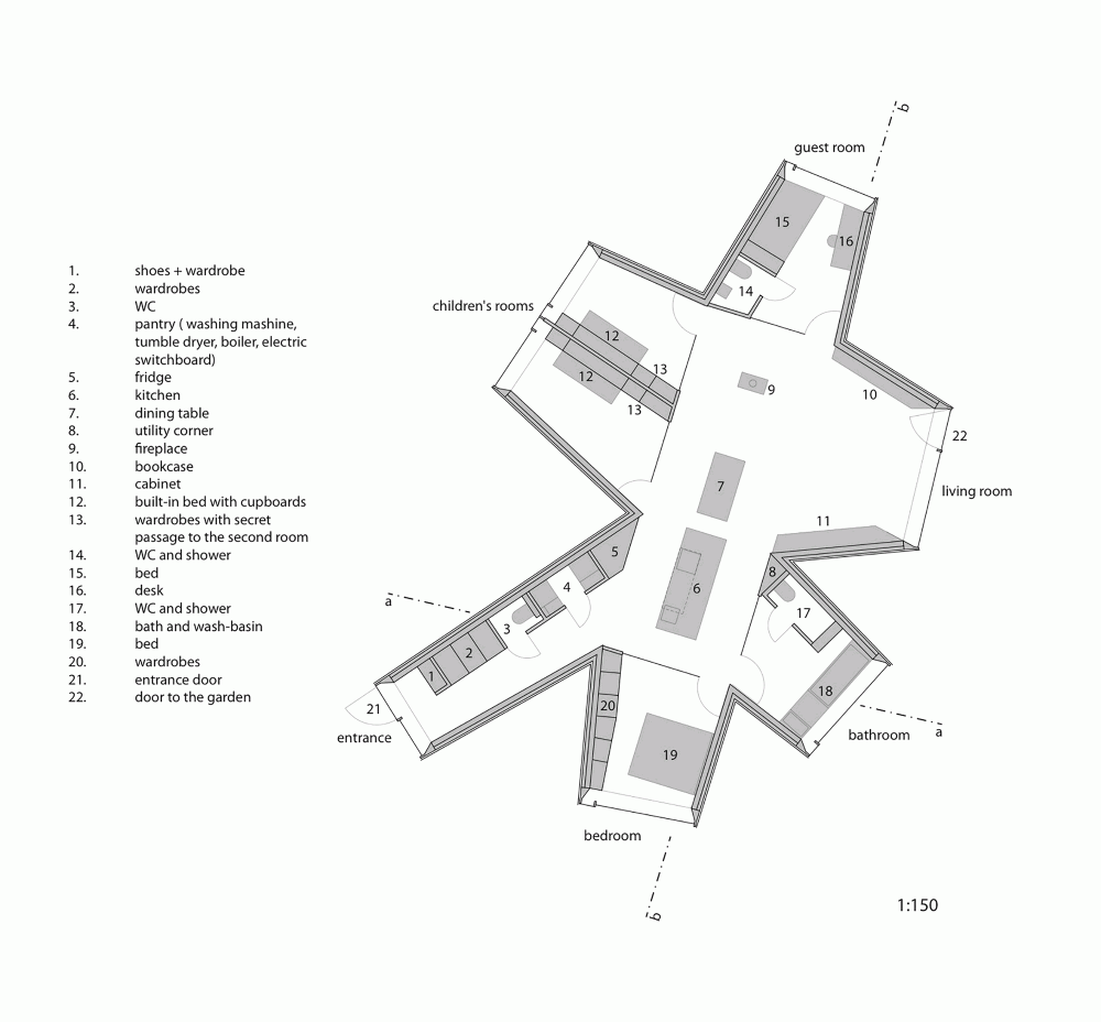 Galer A De Casa Camale N Petr Hajek Architekti 13 Maquetas  # Muebles Sequeira Plasencia