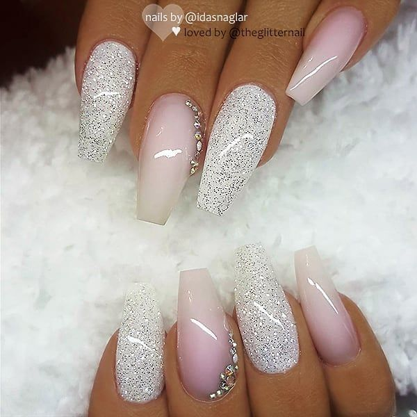 Coffin Nails Pink And White Designs Valoblogicom