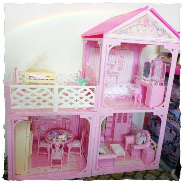 Barbie Vintage Sweet Roses Collector DollHouse Furniture 1981 For Sale!  Suitable For Takara Licca Jenny Blythe Pullip Byul Jdoll Doll House