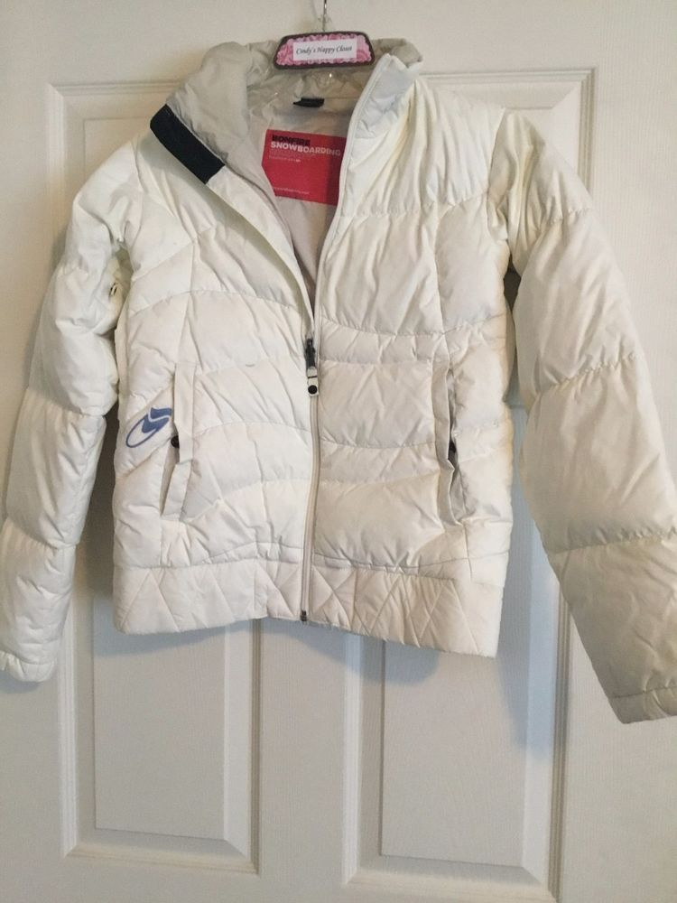 f4e7639a1db Bonfire Snowboarding off-white warm jacket size SM 2 pockets sightly used   fashion  clothing  shoes  accessories  womensclothing  coatsjacketsvests  (ebay ...