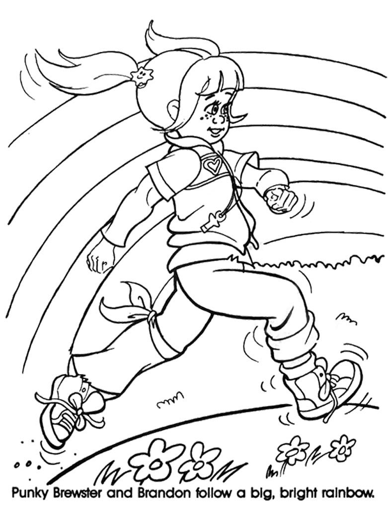 punky brewster coloring pages pinterest punky brewster