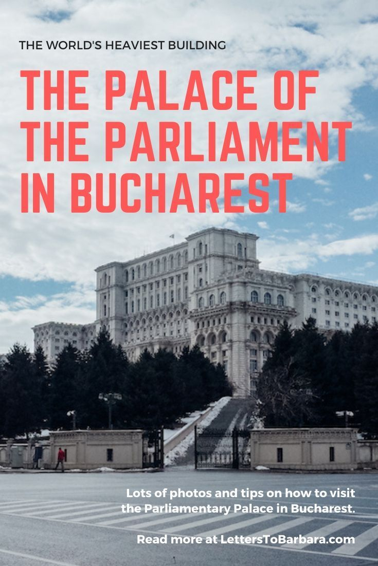The Palace of the Parliament in Bucharest is the world's heaviest building. A photo report plus tips on how to visit it too. #Bucharest #darktourism #travel #traveltips #Romania