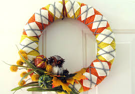 Photo of autumn felt wreath – Google Search