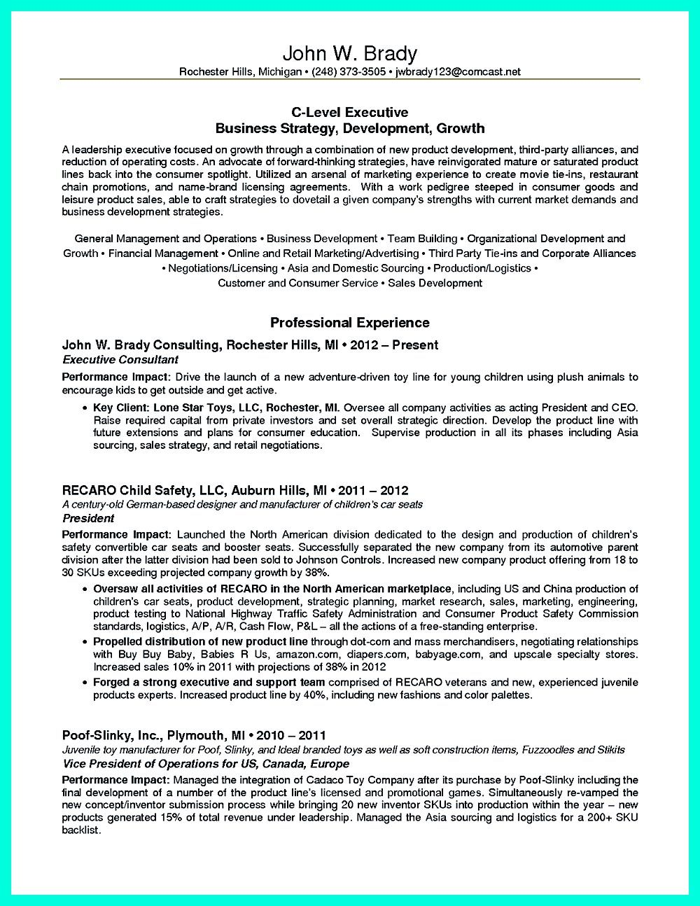 Resume Template Is An Important Thing You Need To Think