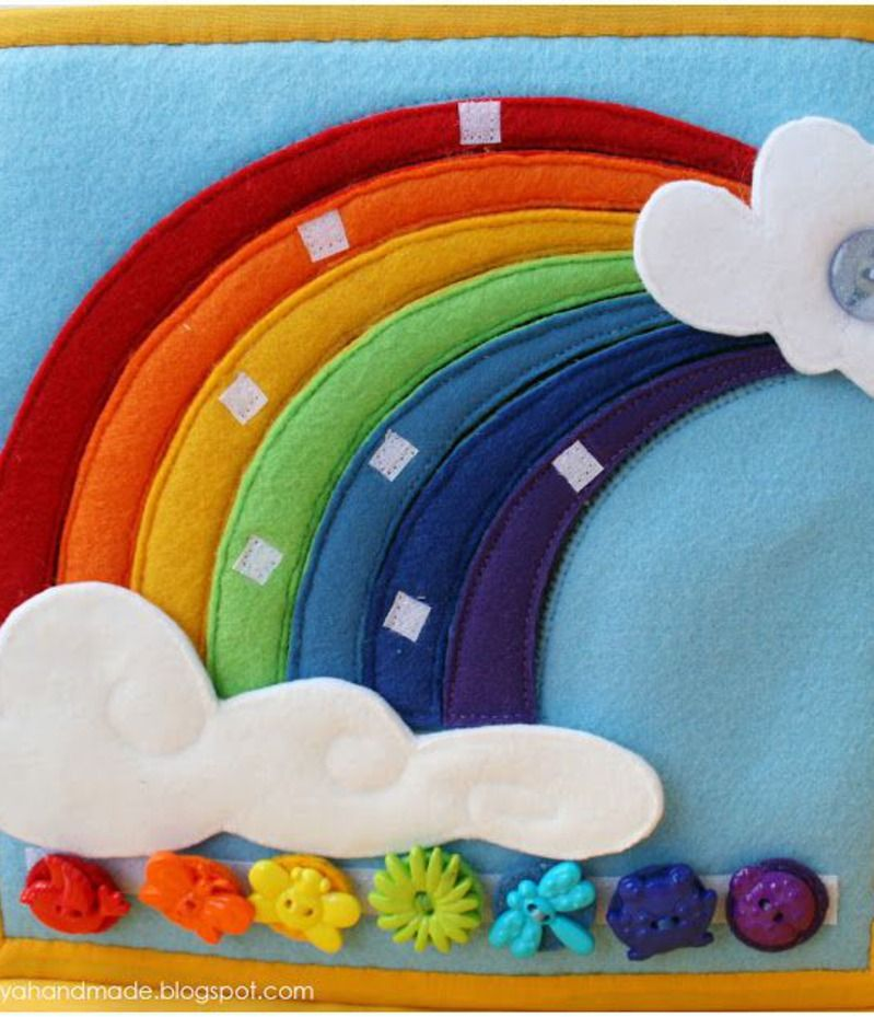 Arcobaleno e colori quiet book pinterest colori - Arcobaleno a colori e stampa ...