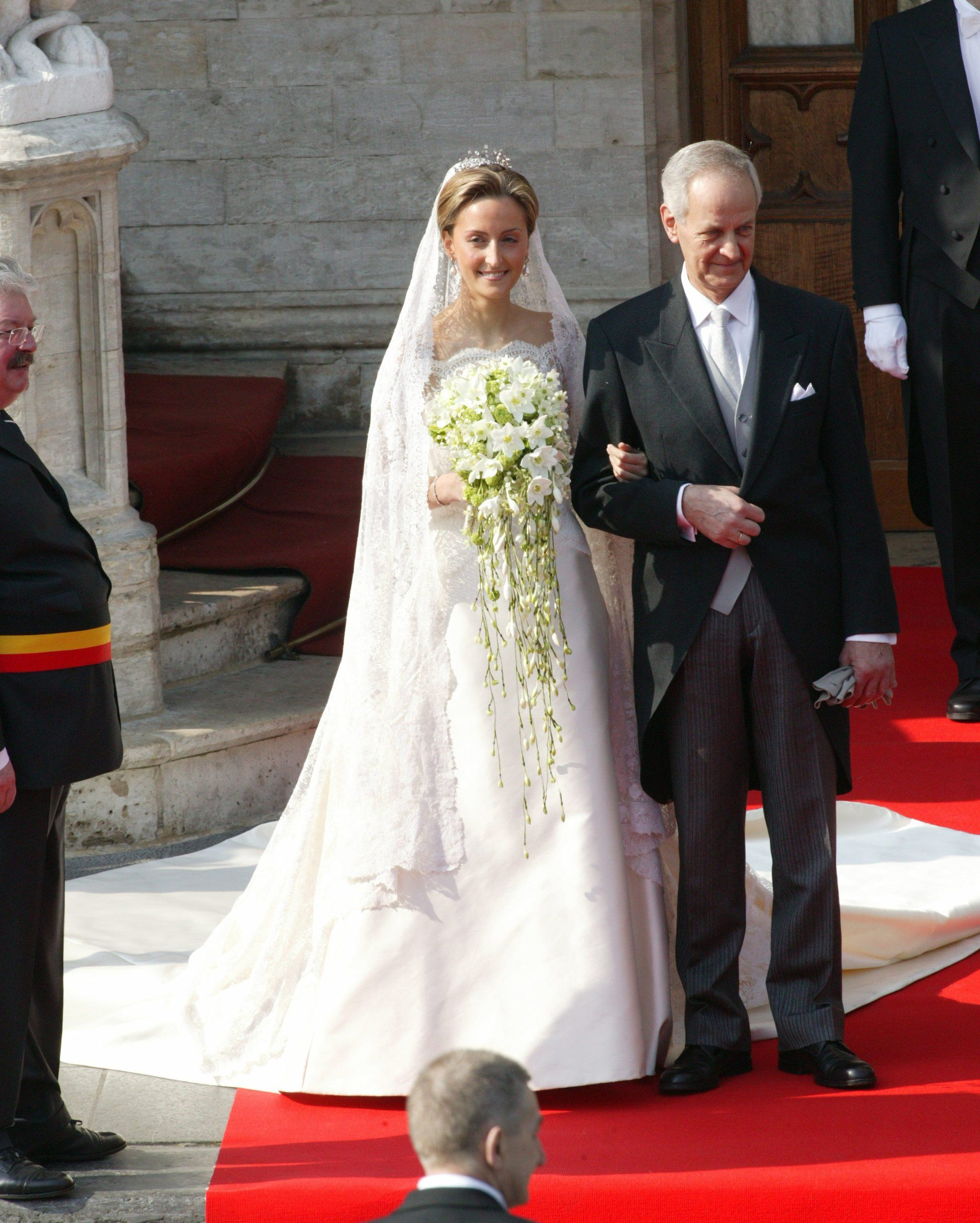 Prince Laurent And Claire Coombs Royal Wedding Dress Royal Wedding Gowns Royal Weddings [ 2555 x 2048 Pixel ]
