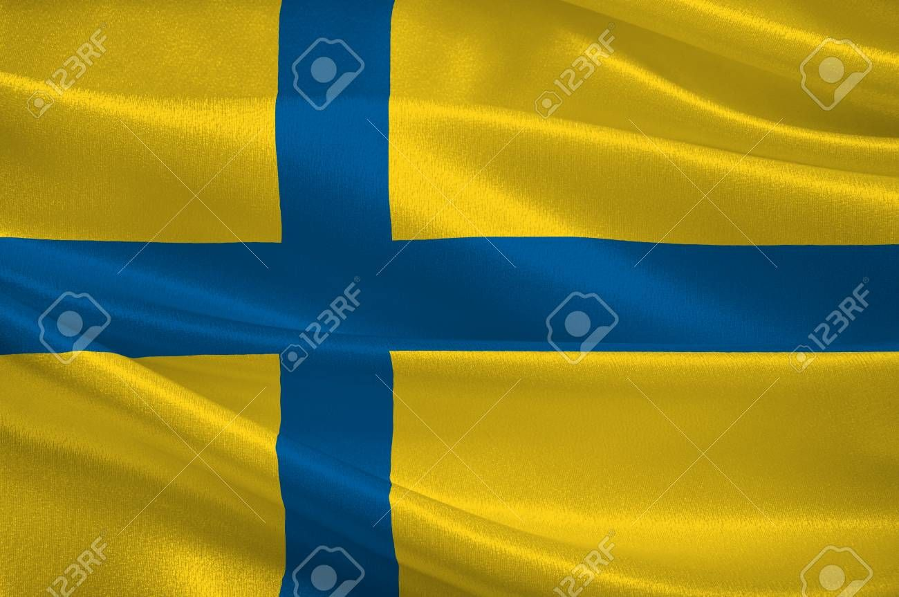 Flag Of Ostergotland County In Southeastern Sweden 3d Illustration Stock Photo Affiliate County Southeastern Flag Ostergotland Stock ในป 2020