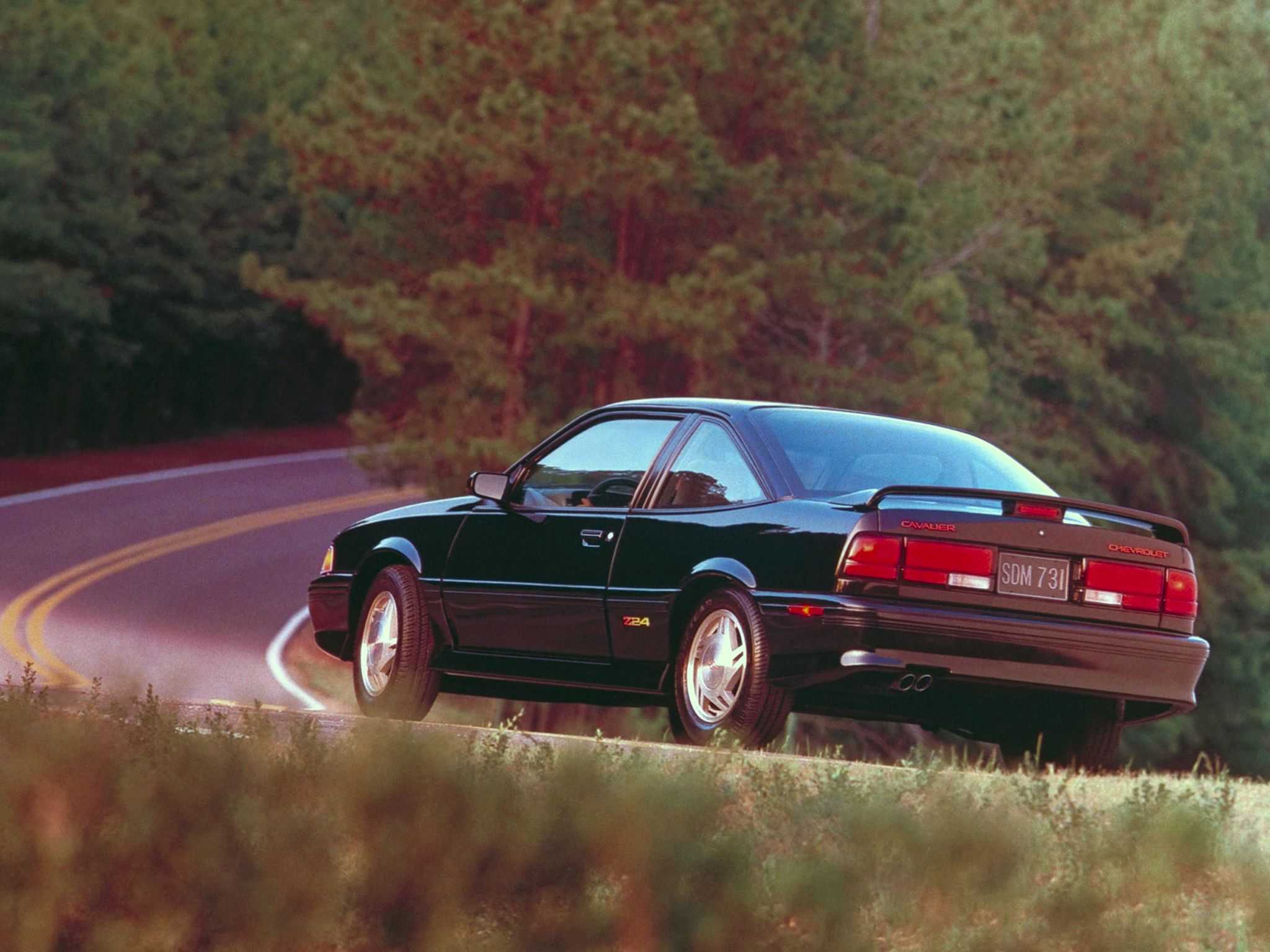 Chevrolet Cavalier Z24 Coupe 1991 1994 Wallpaper 432 Coupe Cavalier