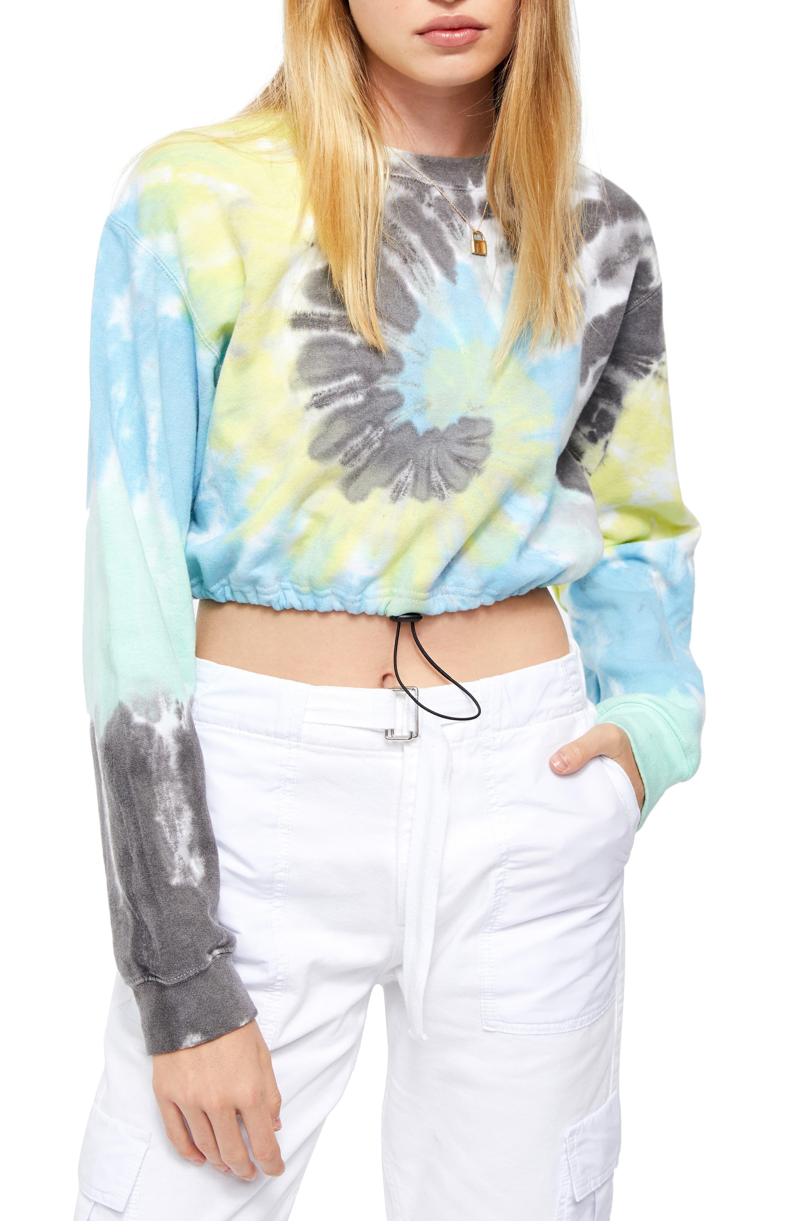 Bdg Urban Outfitters Tie Dye Crop Sweatshirt Nordstrom In 2020 Tie Dye Shirts Patterns Crop Sweatshirt Fashion Clothes Women [ 4048 x 2640 Pixel ]