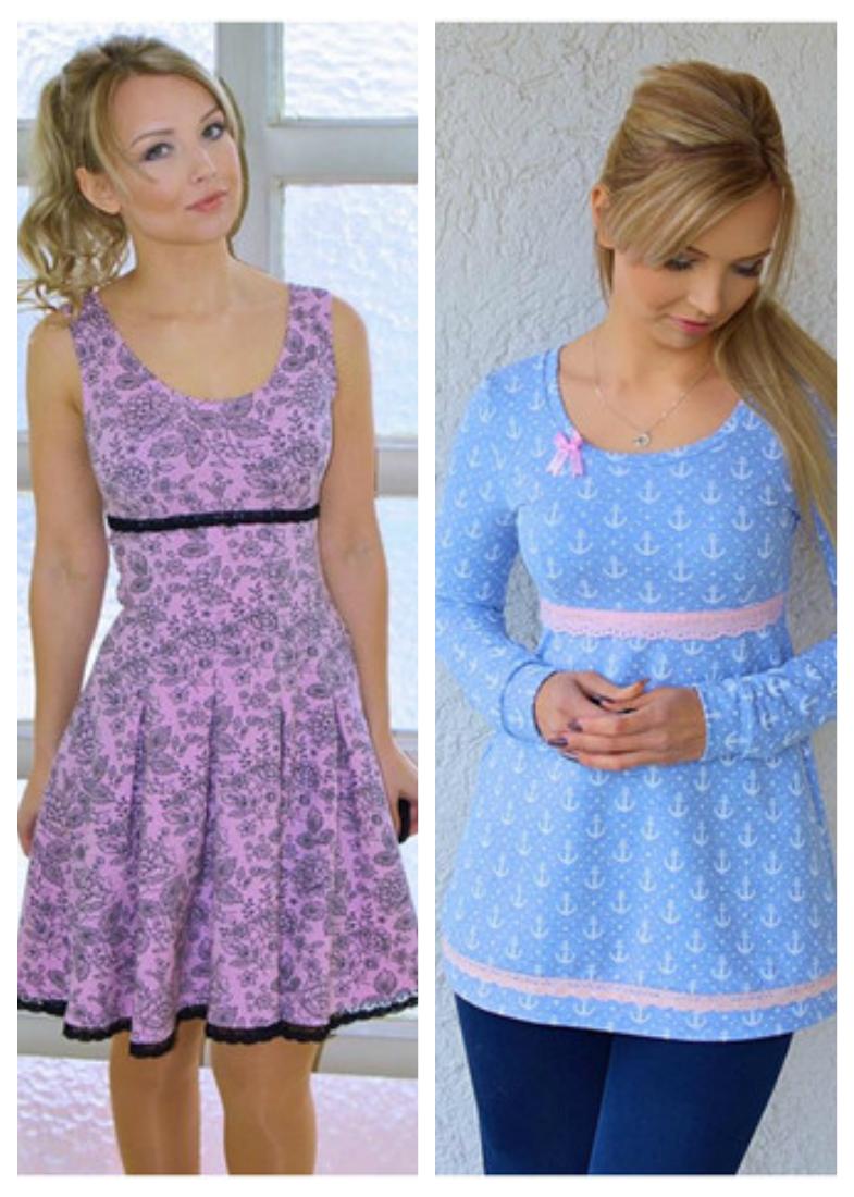ebook Dressy Schnittmuster 32-46   einfache Tunika, Kleid nähen und ...