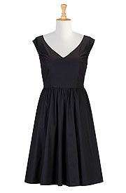50s inspired dresses in retro styles - fit-and-flare dresses, sheath dresses, wrap dresses, shirtdresses, floral dresses, pretty print dresses, available in all shapes and sizes - Big sizes, large and tall, plus sizes, full figured, petites, missy. | eShakti.com