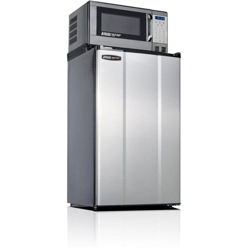 Microfridge 36mf4a7d1 3 6 Cu Ft Refrigerator Microwave Combo Stainless Steel Refrigerators All Refrigerator Mini Fridge With Freezer Interior Design Colleges