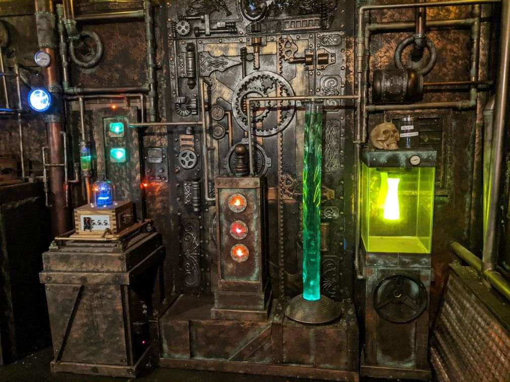 Right side of main wall in 2020 Top haunted houses