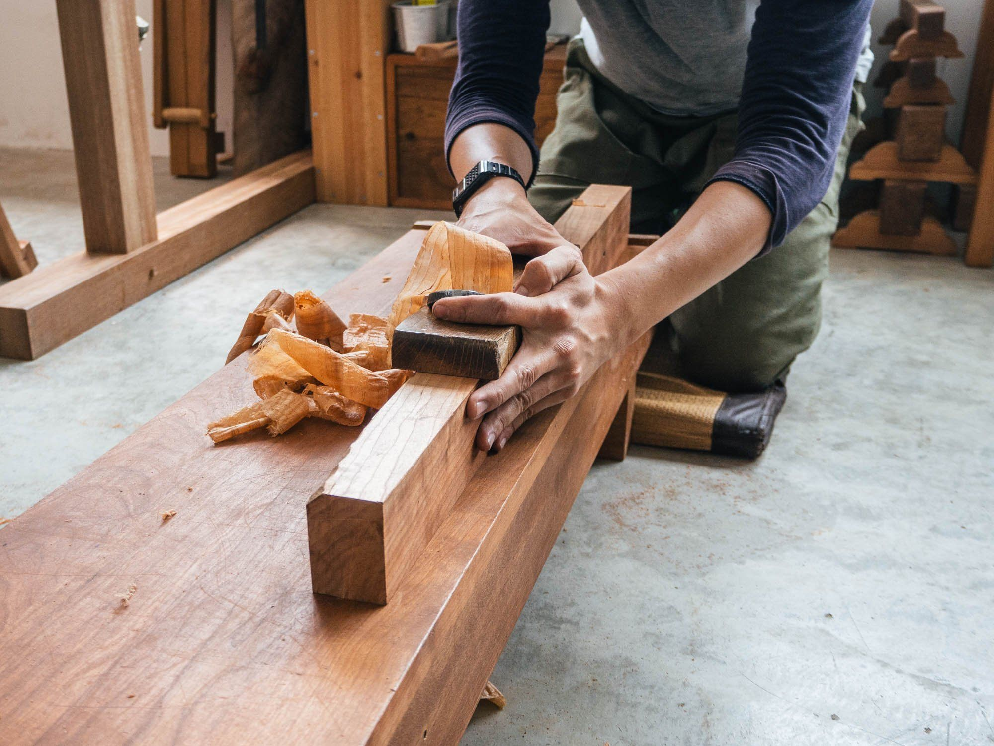 issue five: a journey into japanese woodworkingkim choy
