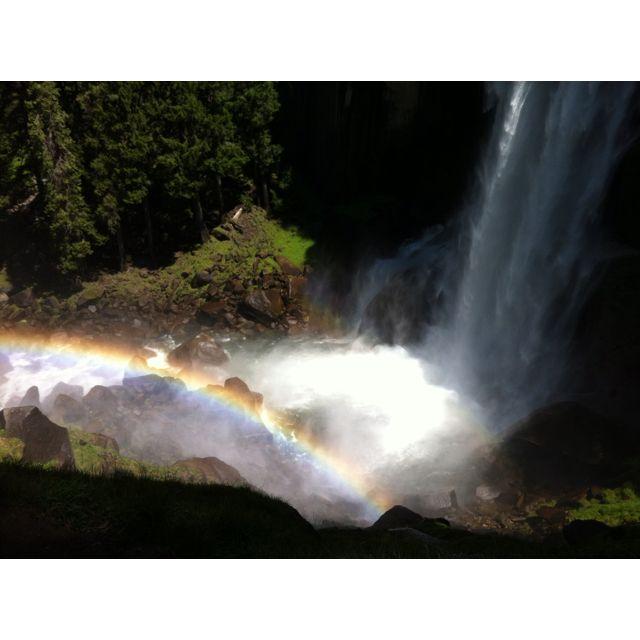 Vernal Falls, Mist Trail, Yosemite, CA
