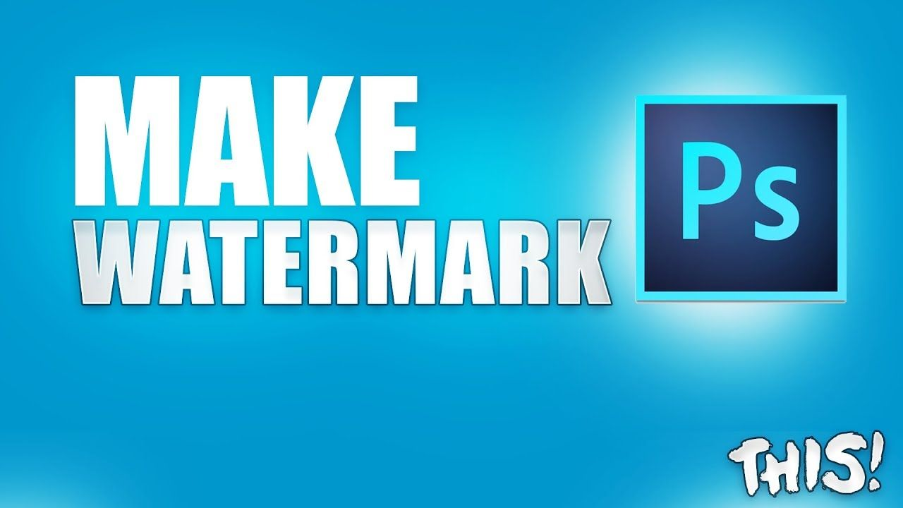 How to make a watermark for your youtube videos with