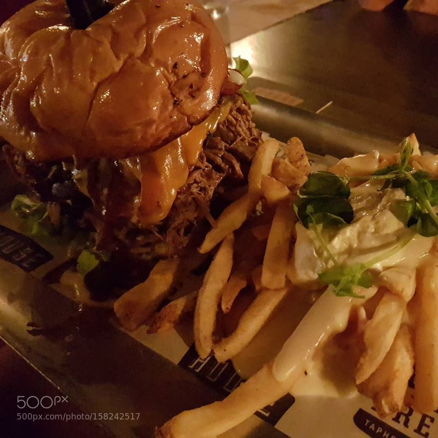 The Redneck with cheese fries. by bpdchandler