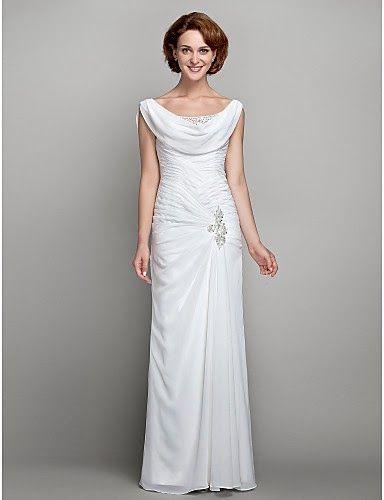 vestidos blancos largos economicos