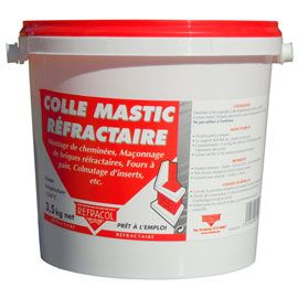 Ciment Refractaire En Seau De 3 5 Kg Ciment Seau Castorama