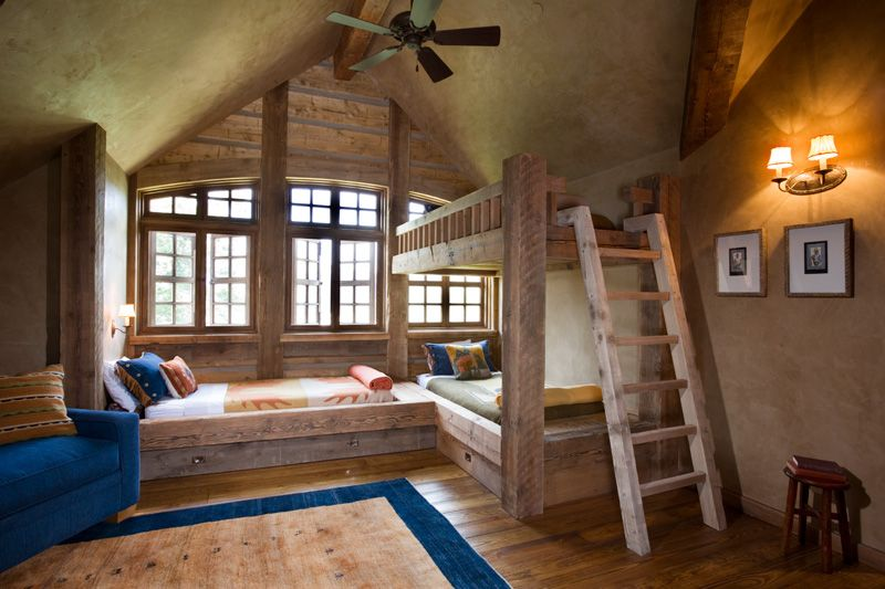 Rustic Bunks I Tihink I Like This Better If You Were