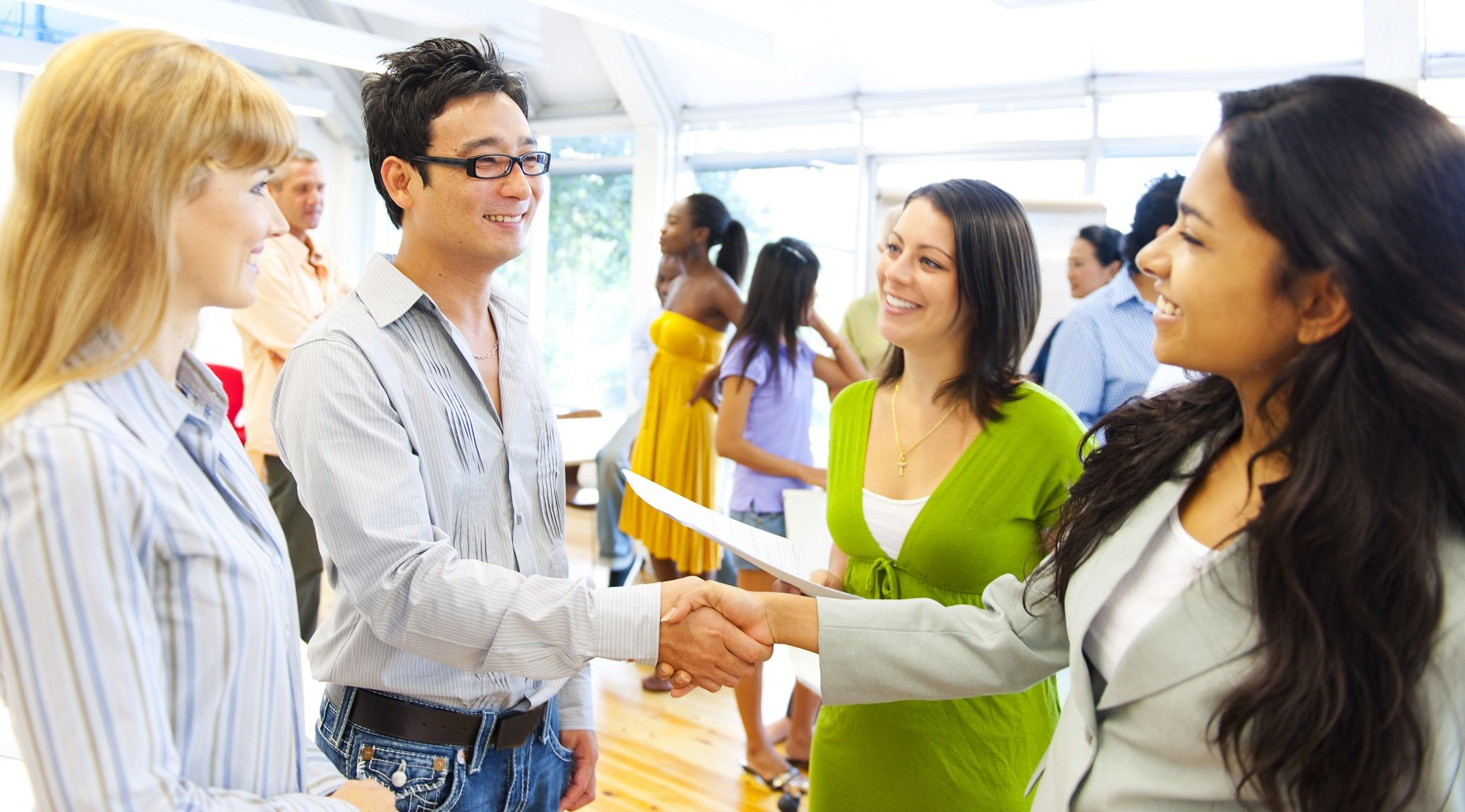 Image Result For Students Meeting People