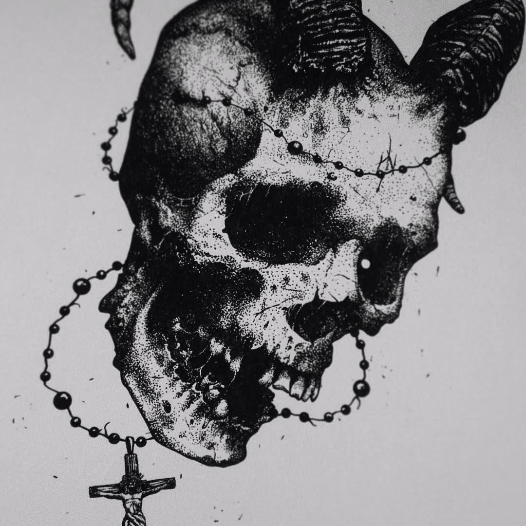 Details Skull Darkart Artwork Artfido Art Fineart Tattoo