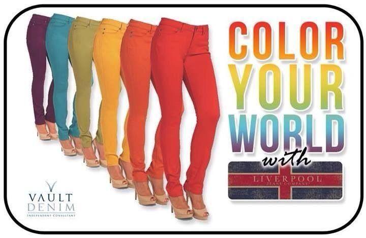 Put some Color in your life! 15168.vaultdenim.com