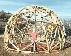 comment construire un d me g od sique d me geodesique pinterest domos geodesicos bamb et. Black Bedroom Furniture Sets. Home Design Ideas