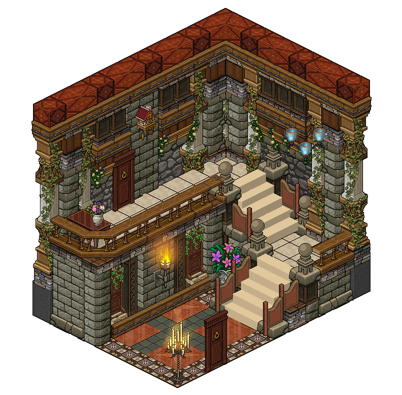 Mansion hall room 2 by on for Apartment 412 rpg maker