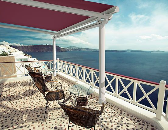 Austin Outdoor Retractable Awnings   Legacy Awning & Shade ...