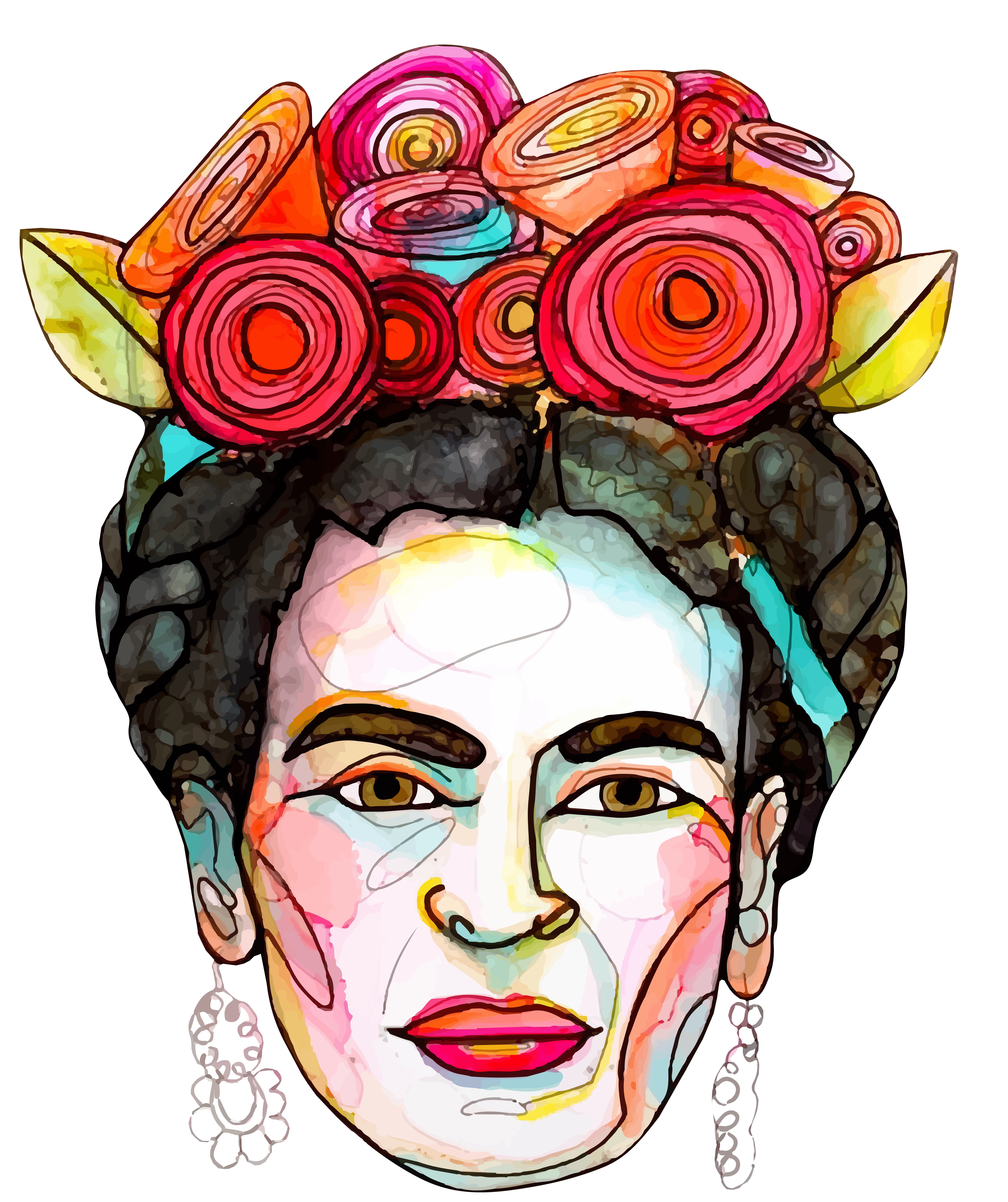 Frida Kahlo Art in 2020   Art, Frida kahlo art, Frida kahlo