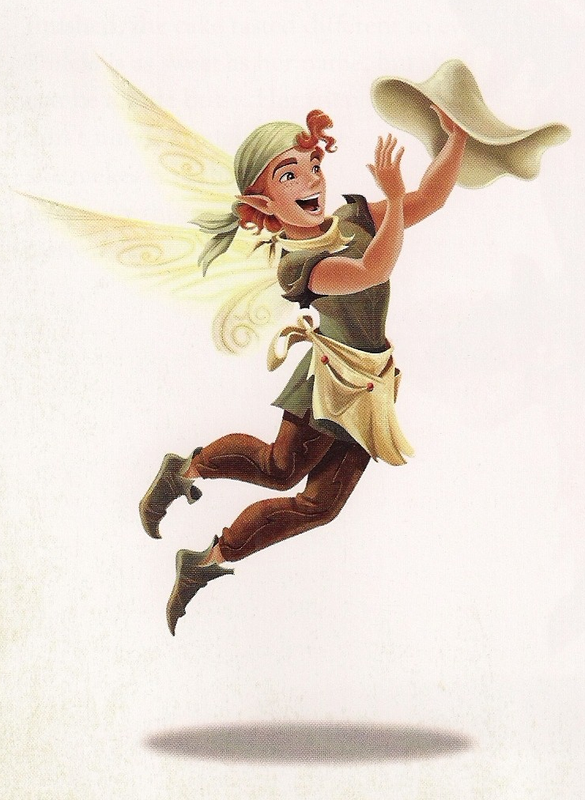 Pixie Hollow Cast - DUNKIN | The fairies of Pixie Hollow ...