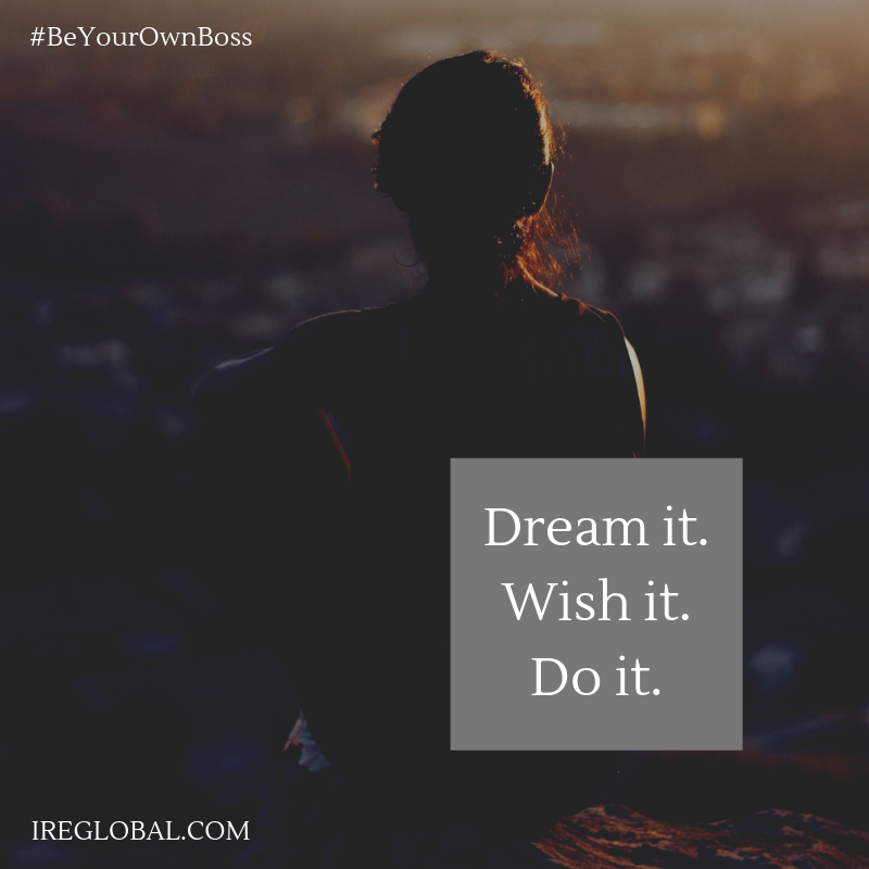 Follow Your Dreams And Persist In Your Efforts Beyourownboss
