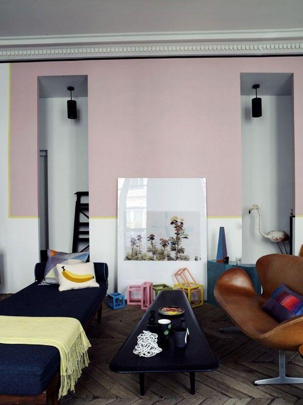 Paredes decoradas 13 ideias de pinturas criativas Favorite color