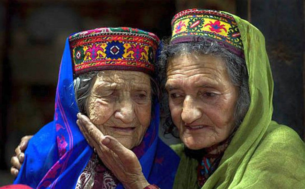 Members of the Hunza people are always smiling, they are