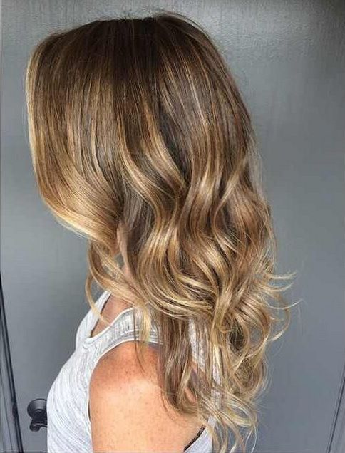 Sunkissed hair brunette highlights hair color pinterest sunkissed hair brunette highlights pmusecretfo Images