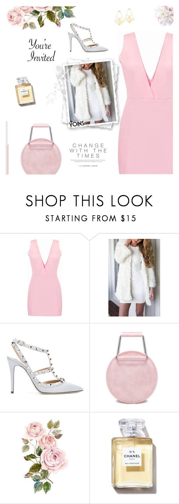 """""""There's More To Life Then We Will Both Discover - Yoins XIII"""" by paradiselemonade ❤ liked on Polyvore featuring Valentino, yoins, yoinscollection and loveyoins"""