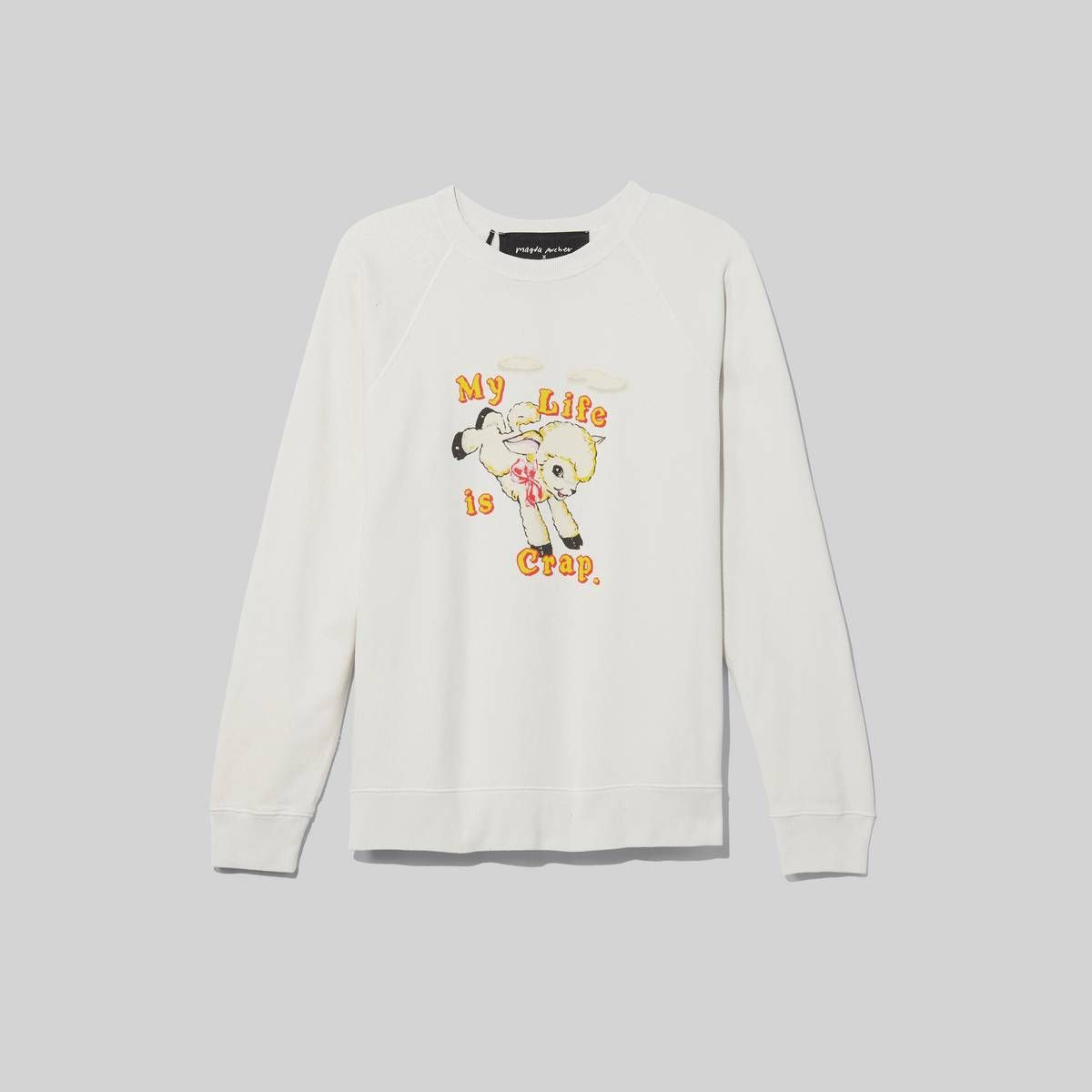 Marc Jacobs Women S Magda Archer X The Men S Collaboration Sweatshirt In Vintage White Size Small Sweatshirts Marc Jacobs Jacobs [ 1200 x 1200 Pixel ]