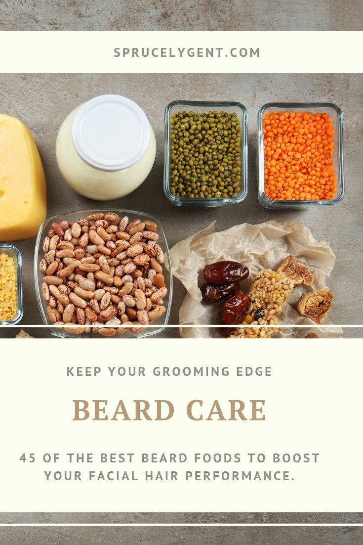The Top 45 Best Beard Foods To Speed Up Facial Hair Growth