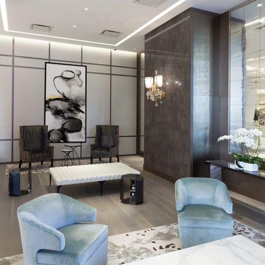 Nyc Plaza 400 Lobby Design By Jse Interior Design In 2020 Custom Furniture Design Nyc Interior Design Lobby Design