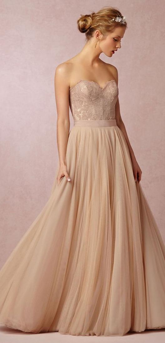 Shop the Look! Wedding Pretties by BHLDN | Ballkleider, Hochzeiten ...