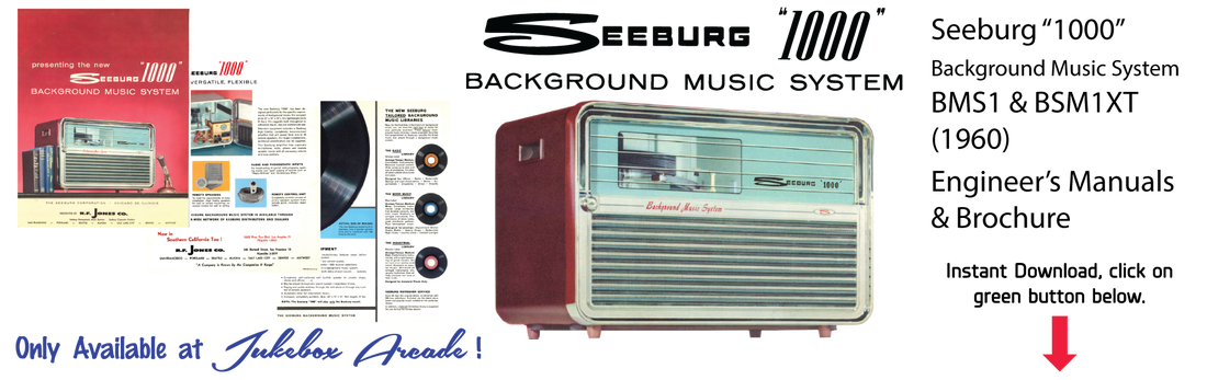 Seeburg 1000, Background Music System, BMS1 & BMS1XT, 1960
