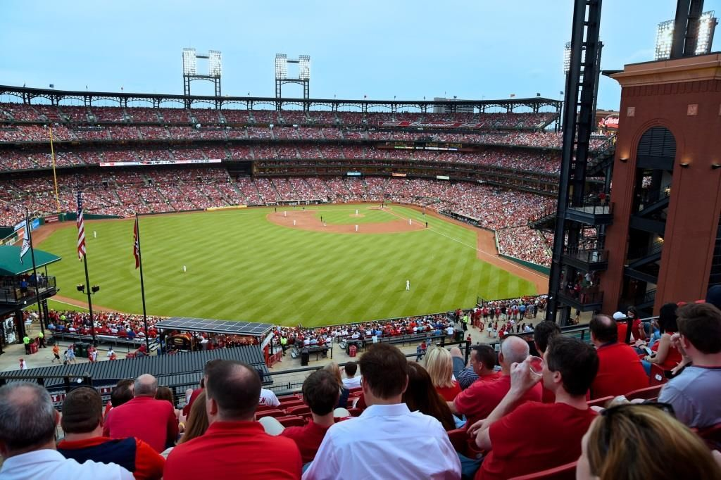 Sitting In The Att Rooftop Deck Of Cardinals Nation For A Cardinals