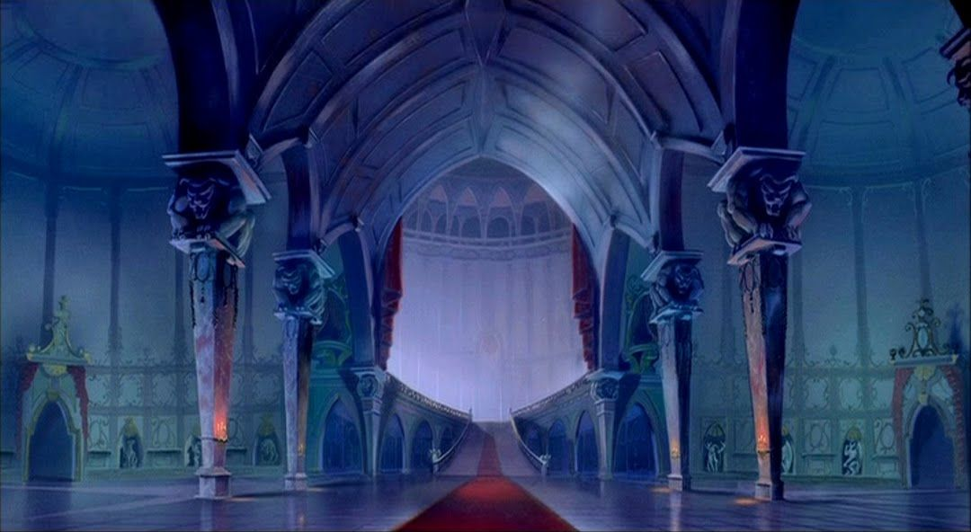 Beauty And The Beast Castle Animation Background Beauty The