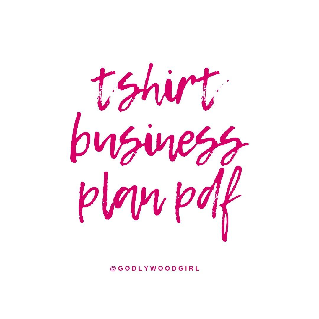 T shirt printing business plan pdf top case study proofreading for hire for mba