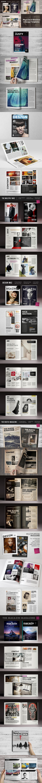 8 InDsgn Magazine Brochure Templates