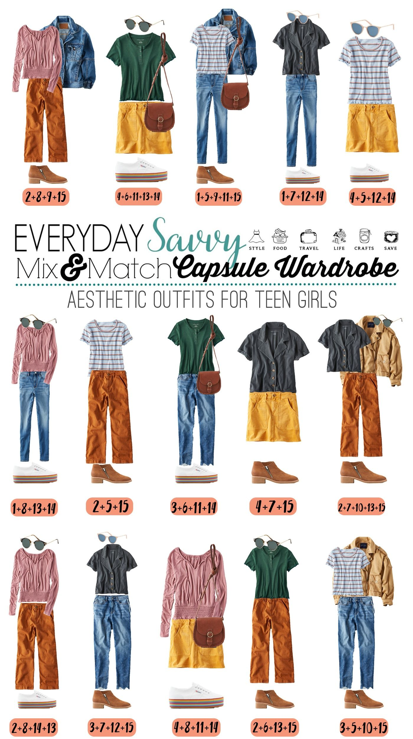 Spring Trendy Outfits For Teenage Girls