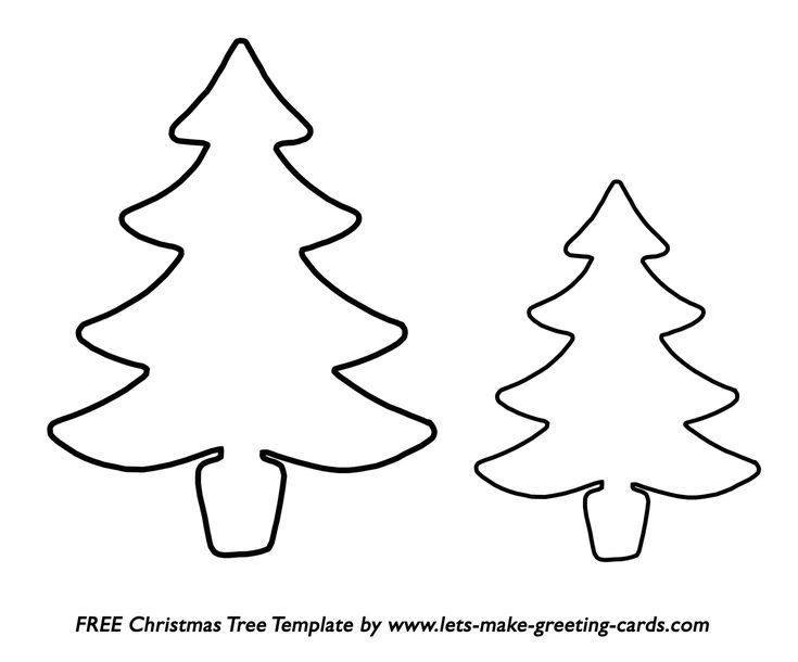 Christmas Tree Templates In All Shapes And Sizes Christmas Tree Template Christmas Tree Printable Christmas Tree Outline
