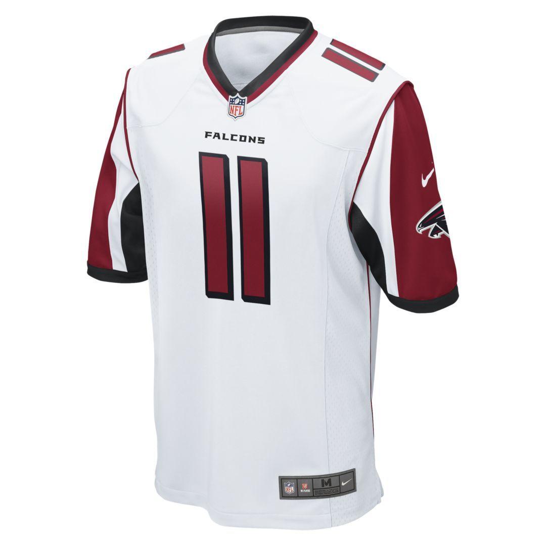 91695f48 NFL Atlanta Falcons (Julio Jones) Men's Football Away Game Jersey ...